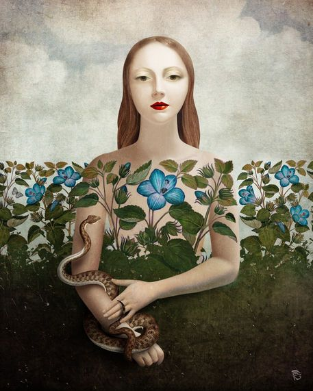 c0e3810d2f9a78e252354fde7a0b3c7c--garden-art-snakes