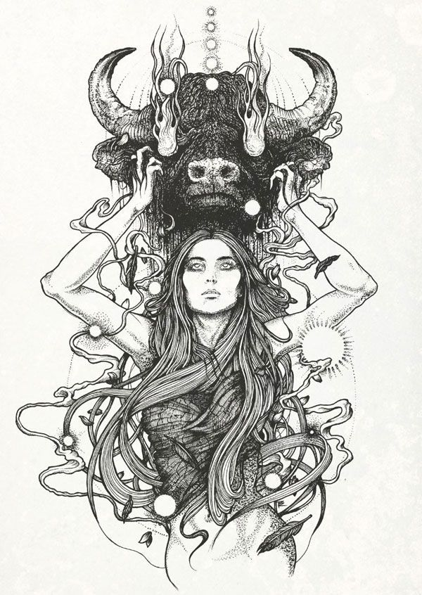 taurus by RICHEY BECKETT ILLUSTRATION